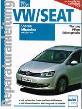 Libro Manual de reparación VW Sharan y Seat Alhambra del año 10 Banda 1331