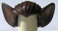 LEGO - Minifig, Headgear Hair w/ Bat Ears & Dark Flesh Inner Ear - (Bat Monster)