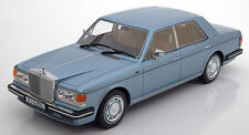 BoS Models 1987 Rolls Royce Silver Spirit Light Blue RHD LE of 1000 1/18 Scale