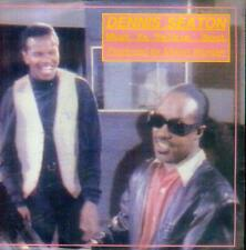 """7"""" Dennis Seaton/Party People (D) Produced By Stevie Wonder"""