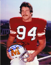 RANDY WHITE SIGNED MARYLAND TERPS 8X10 PHOTO #4 COWBOYS