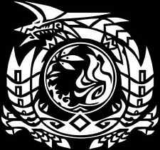 Monster Hunter Jinouga Zinogre crest decal