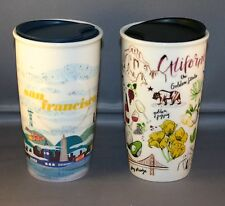 2016 starbucks california and san francisco ceramic tumblers 10 fl oz