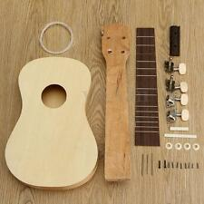 "21"" Self-Build Ukulele DIY Soprano Hawaii Ukulele Kit Musical Instrument Gift"