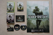 Call Of Duty 4 Modern Warfare Limited Collector's Edition Xbox 360 - FREE UK P&P