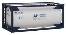 H0 Tankcontainer 20 Fuß Twinstar Leasing -- 8106 NEU