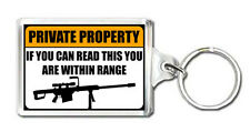 PRIVATE PROPERTY FUNNY KEYRING NEW