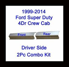 1999-2014 Ford Super Duty Crew Cab Driver Side 2Pc Rocker Panel Front & Rear