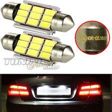 2x LED SMD Kennzeichenbeleuchtung Birne TÜV #70 Honda Dacia Volvo Suzuki Hyundai