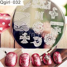 Nail Art Stamping Plate Image Stamp Template Bird Animal Pattern #Qgirl-032