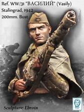 Alexandros Models 200mm Russian Sniper Vasily Stalingrad 1942 Resin Bust #WW/31