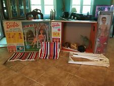 "VINTAGE ""MISS BARBIE"" IN BOX-COMPLETE-SWING-WIGS-STAND-OSS-2nd BEND LEGS 1964"