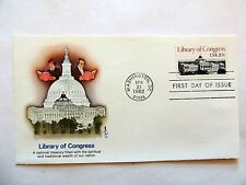 """April 21st, 1982 """"Library Of Congress"""" First Day Issue"""