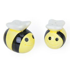 Ceramic Bee-Pattern and Pepper Shakers Wedding Party Fillers Set ZH