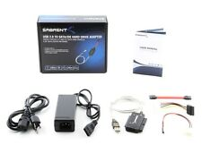 "Sabrent USB to SATA, IDE, USB 2.0 to SATA/IDE Hard Drive Adapter for 2.5"" 3.5"""