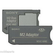 Sony Memory Stick Micro M2 to Memory Stick Standard / Pro Duo Card Adaptor