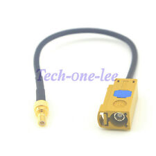 "5.9'' GPS Cable Fakra""K"" Female to SMB Male Plug Antenna Extension Coax 15cm"