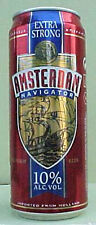 AMSTERDAM NAVIGATOR BEER 500ml CAN with SHIP, HOLLAND, NETHERLANDS gd.1