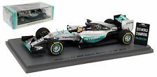 Spark S4622 Mercedes W06 Winner US GP 2015 - Lewis Hamilton With Pit Board 1/43
