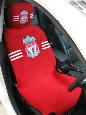 Liverpool Football Club Car Accessory : Full Car Seat Cover + Head Rest Cover