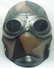 "Army of Two ""Thane 1"" Desert Tan Camo Custom Fiberglass Paintball / Airsoft Mask"