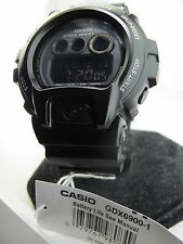 G-Shock Casio GDX6900-1 Mens Classic Blk Case Dial and Strap Flash Alert Buzzer