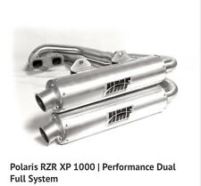 HMF Polaris RZR XP 1000 2014 Performance Series Dual Full Exhaust Muffler