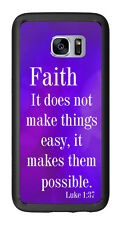 Religious Faith Scripture For Samsung Galaxy S7 Edge G935 Case Cover by Atomic M