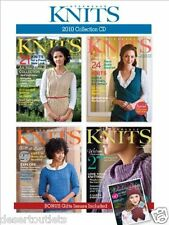 NEW! Interweave Knits 2010 Collection CD All Four Issues
