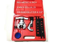Copper Tube Flaring Cutting Tool Kit,pipe Flaring Tool Set CT-8068F(METRIC & IN)