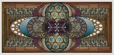 Stained Glass window cling - Xylem