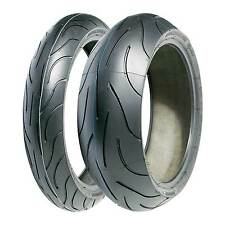 Par De Michelin Pilot Power 2ct 120/70/17 & 180/55/17 Moto Sport neumáticos