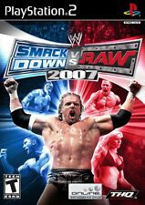WWE SmackDown vs. Raw 2007 - Playstation 2 Game Complete