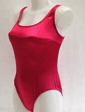 FANTASTIC 80's VINTAGE BAYWATCH STYLE LADIES SWIMMING COSTUME SWIMSUIT UK16 NEW