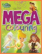 Disney Fairies/Tinkerbell and the Pirate Fairy: Mega Colouring Book