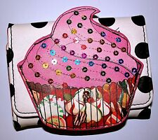 Iron Fist Ladies Sweet For My Sweet Cupcake Wallet Purse Xmas Stocking Filler
