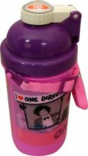 One Direction 'I Love 1d' Pink Pop Up Canteen Water Bottle Brand New Gift