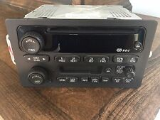 2003-2005 Cadillac GM Chevy Truck Radio AM FM Cassette CD Player Delco 15198701
