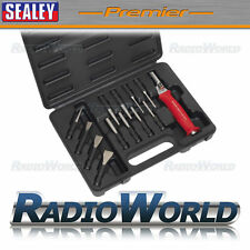 Sealey Interchangeable Punch & Chisel Set 13pc Flat Pin Kit Set Garage Workshop