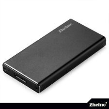 Zheino mSATA to USB 3.0 Aluminum Housing External Enclosure Case for mSATA SSD
