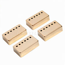 4PCS GOLD Humbucker NECK & BRIDGE Guitar Pickup Covers golden
