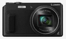 Panasonic LUMIX DMC-ZS45 Digital Camera (Black) DMCZS45K 20X ZOOM OPEN BOX DEMO
