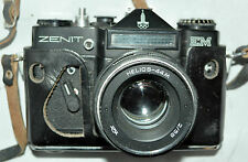 Zenit EM and helios 2/58 EM Olympic Edition Moskva 1980 with Olympic logo good
