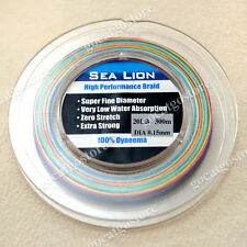 NEW Sea Lion 100% Dyneema Spectra Braid Fishing Line 300M 20LB Multi Color