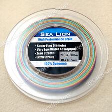 NEW Sea Lion 100% Dyneema Spectra Braid Fishing Line 300M 20LB Multi Color