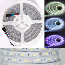 RGB+Cool White RGBW Silicone Cover IP67 Waterproof 5M 300 LED 5050 Light Strip