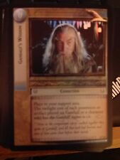 Lord of  Rings CCG Mines of Moria 2C23 Gandalf's Wisdom FOIL TCG LOTR