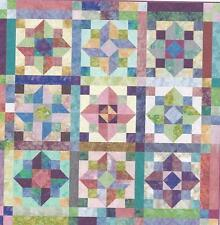 Bali Jewels quilt pattern by Linda J. Hahn of Frog Hollow Designs