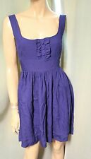 Jack by BB Dakota Blue Sleeveless Dress Large L