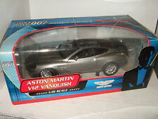 Pauls Model Art 10011, James Bonds Aston Martin V12 Vanquish in 1:18 Scale.